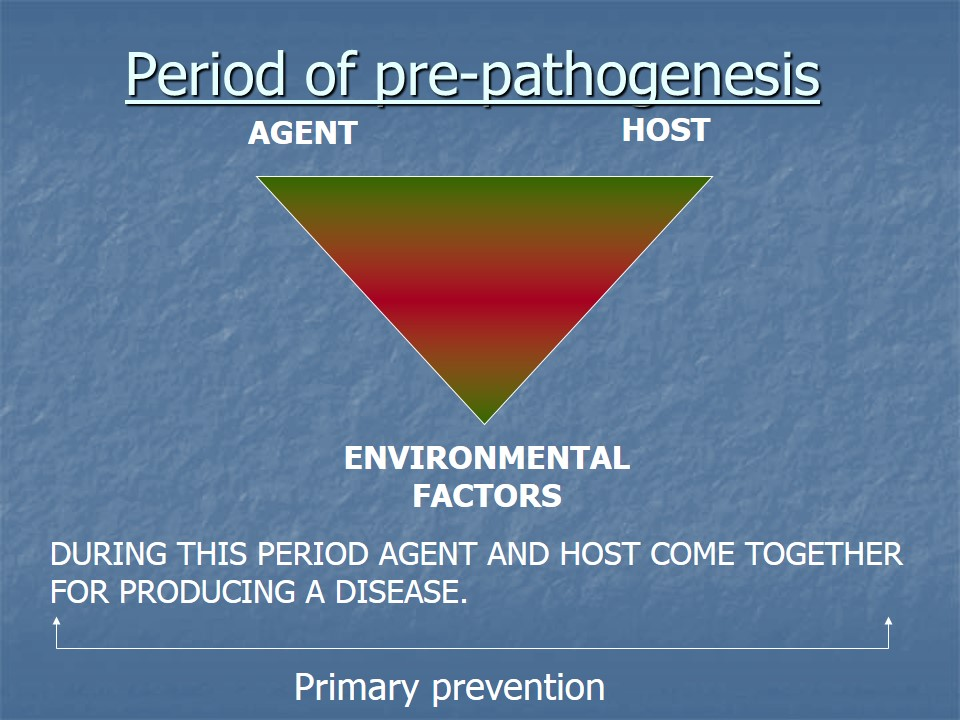 period of pre pathogenesis